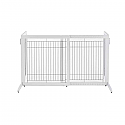 Freestanding Pet Gate Autumn - High Height - White