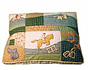 Quilted Bed - Equestrian Theme