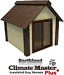 Insulated Dog House With Door